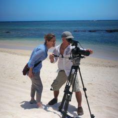 Photos de tournage du prochain film de Beachcomber Photo-shooting of the new Beachcomber film   By Eric Genillier, Claude Degoutte, Renaud Vandermeeren, Brice Charrue et Axel Ruhomaully  At Le Victoria Hotel