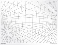 002 This perspective grid paper is formatted with two points