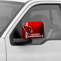 The Arizona Cardinals Car Side Mirror Covers look awesome, great for tailgating