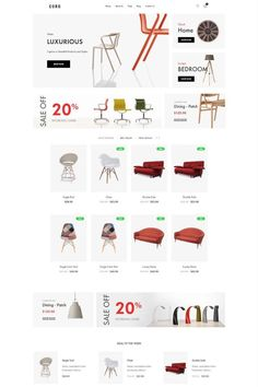 """Coro is a clean, minimal, creative and modern eCommerce theme for WordPress platform. Powered by WordPress' most popular eCommerce platform """"WooCommerce"""", Coro can be the too Ecommerce Web Design, Ecommerce Template, Wordpress Theme Design, Web Design Tips, Web Design Services, Ui Design, Minimal Web Design, Landing Page Design, Website Design Inspiration"""