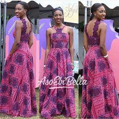 Va-Va-Voom in This Trendy and Stylish Ankara Styles - Wedding Digest Naija African Inspired Fashion, African Dresses For Women, African Print Dresses, African Print Fashion, Africa Fashion, African Attire, African Wear, African Fashion Dresses, African Women