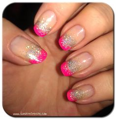bright nail designs | Easy Peasy Nail Design - Tips with a Twist pt1 » Do Not Refreeze - UK ...