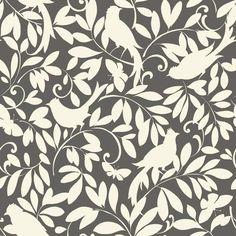 Waverly Cottage Birdsong Wallpaper