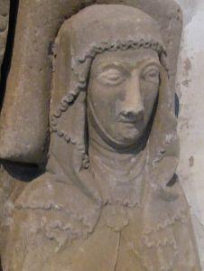 Imagina von Isenburg-Limburg 1337, Germany, Heidenheimer Munster