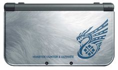 Nintendo Direct had a lot of surprises for 3DS fans, one of them being the announcement of a new Monster Hunter 4 Ultimate New 3DS XL bundle. Description from gotgame.com. I searched for this on bing.com/images