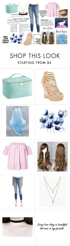 """""""Pastal Love"""" by flyingunikittys-poopattack on Polyvore featuring PBteen, Christian Louboutin, Milly, J Brand and LOFT"""
