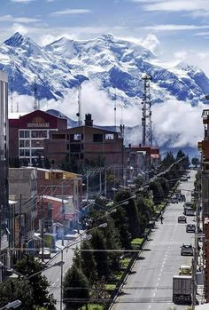 View of Illimani, (Mountain in Bolivia) Bolivia, Evo Morales, Continents, South America, Peru, Chile, Mount Everest, Brazil, Beautiful Places