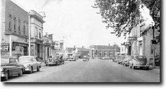 Old Photo of Grafton with Cars