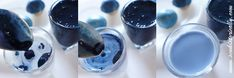 natural blue food coloring tutorial red cabbage baking soda vegan soy milk