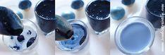 natural blue food coloring tutorial red cabbage baking soda vegan soy milk