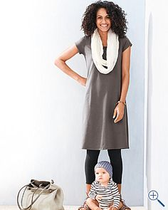 A perfect mom outfit--unless you're a nursing mom.