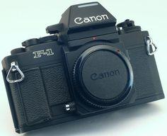 CANON New F-1 35mm SLR for FD lens