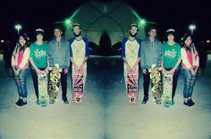 skaters esse dia, menos eu.