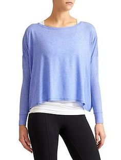 Essence Top - Our softest-ever, breathable top with a modern boxy cut everyone needs for layering their life.