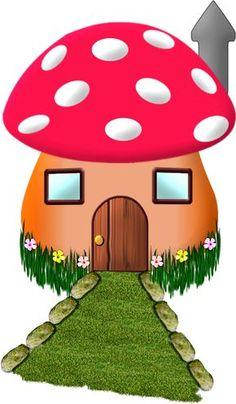 Photo from album on Yandex. Art Drawings For Kids, Drawing For Kids, Easy Drawings, Art For Kids, Crafts For Kids, Mushroom House, Mushroom Art, Holly Hobbie, House Quilts