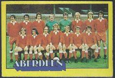 Aberdeen team group in 1974.
