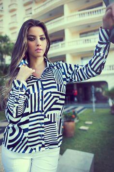 foto: Manu Lamode model: Luanna Fonseca styling: Viviane Santos hair & make-up: Ronaldo Junior client: camisas Factual