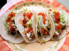 Quick Chicken Carnitas:  A delicious and easy Weight Watchers recipe