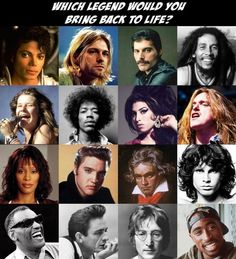 Which Legend Would You Bring Back To Life