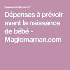 Dépenses à prévoir avant la naissance de bébé - Magicmaman.com