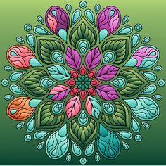 Art quilts in 2019 mandala art, mandala design, mandala coloring. Mandala Art, Mandalas Painting, Mandalas Drawing, Dot Painting, Mandala Design, Stone Painting, 5d Diamond Painting, Mandala Coloring, Easy Paintings