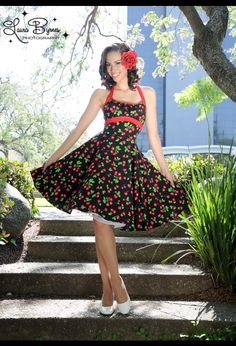 So want this!!The Daisy Dress in Black Cherry Poplin by Pinup Couture @Maureen Rocha @Nicole Rocha