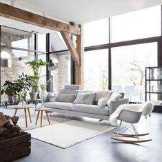 skandinavisches design klassische möbel wohnzimmer ideen