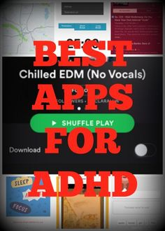 The best apps for ADHD (that you'll actually appreciate): http://adhdboss.com/best-apps-adhd/