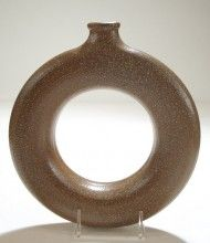 Ring Jug. Westmore Pottery.
