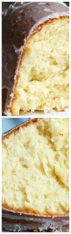 Coconut Cream Cheese Pound Cake - recipes-sweets, treats and desserts - Brownie Desserts, Oreo Dessert, Mini Desserts, Just Desserts, Delicious Desserts, Yummy Food, Bunt Cakes, Cupcake Cakes, Cupcakes