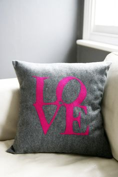 Love cushion #pillow #interior design #decor❤