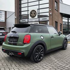 #miniFAN @jd_customs -  The first brand new JD Customs customized Mini you can buy straight from the dealer! It's now on display at the largest Mini dealer in Europe, @breemanmini in Rotterdam! #proudmoment #mini #coopers #new #by #jdcustoms #breemanmini #militarygreen - #regrann