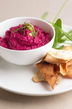 Another beetroot hummus