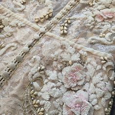 #flowercouture #embroideries by #inbaldror  #weddinggown
