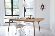 62.25-100.25L x 35.5W x 29.5H  Dulwich Extension Table - Design Within Reach
