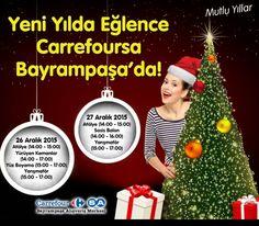 #Yeni #Yılda #Eğlence #Carrefoursa #Bayrampaşa'da
