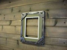 picture frames for industrial decor - Norton Safe Search Metal Furniture, Home Decor Furniture, Industrial Furniture, Industrial Office Design, Industrial Style, Welded Metal Projects, Steampunk Bedroom, Urban Rustic, Metal Picture Frames