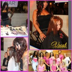 """Love ,love , love being a """"guest extension specialist"""" If your #salon or company, or town is participating in a fundraiser, holding an event or even fashion show id love to come as a guest and do extensions! Also Let me help you promote your event for free! (for fashion shows any models hair extensions must be paid for in full)  I usually do different colored  extensions for whatever the cause is if its a fundraiser. example: pink for breast cancer) Contact me at eastendextensions@gmail.com…"""