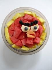 Red - Angry Birds Fruits