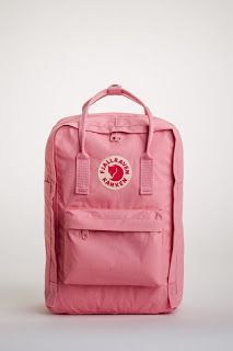 The Fjallraven Kanken Laptop 15 Pink has a Padded 15 inch laptop compartment and back panel, Adjustable padded nylon webbing shoulder straps, Top twin Backpack Outfit, Diaper Bag Backpack, Laptop Backpack, Kanken Backpack, Diaper Bags, Mochila Kanken, Girl Backpacks, School Backpacks, Aesthetic Backpack