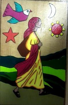 the girl from Santo Domingo