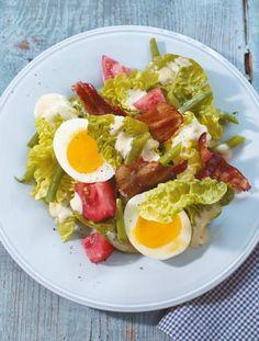 Caesar's Salad mit Bohnen Rezept - [ESSEN UND TRINKEN]