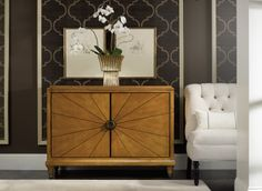 Hooker - Commode à portes d'inspiration Art Déco Door chest  http://meubleslinton.com