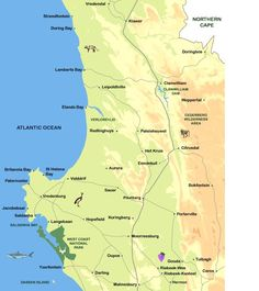 cape namibia westcoast route map - Google Search St Helena, Atlantic Ocean, West Coast, Wilderness, Maps, Google Search, Into The Wild, Blue Prints, Map