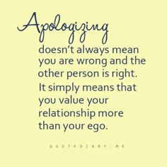 Ego? Who has time for an Ego in this kind of relationship!  lol