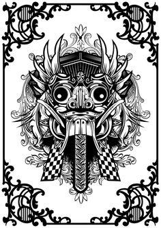 Balinese Barong Mask