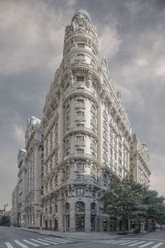 """Dreamy Photos of New York Architecture Capture the """"Secret Lives of Buildings"""" New York Architecture, Vintage Architecture, Minimalist Architecture, Historical Architecture, Beautiful Architecture, Beautiful Buildings, Landscape Architecture, Modern Buildings, New York City Buildings"""