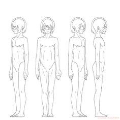 全身骨格、筋肉 女性 | KITAJIMAのお絵かき研究所