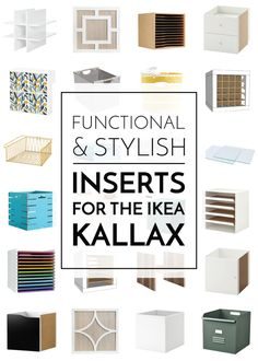 Cube Storage Shelves, Vinyl Storage, Ikea Shelves, Wooden Shelves, Smart Storage, Ikea Kallax Unit, Kallax Shelf Unit, Cube Ikea, Kallax Insert