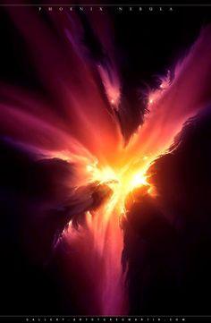Angry looking Phoenix Nebula